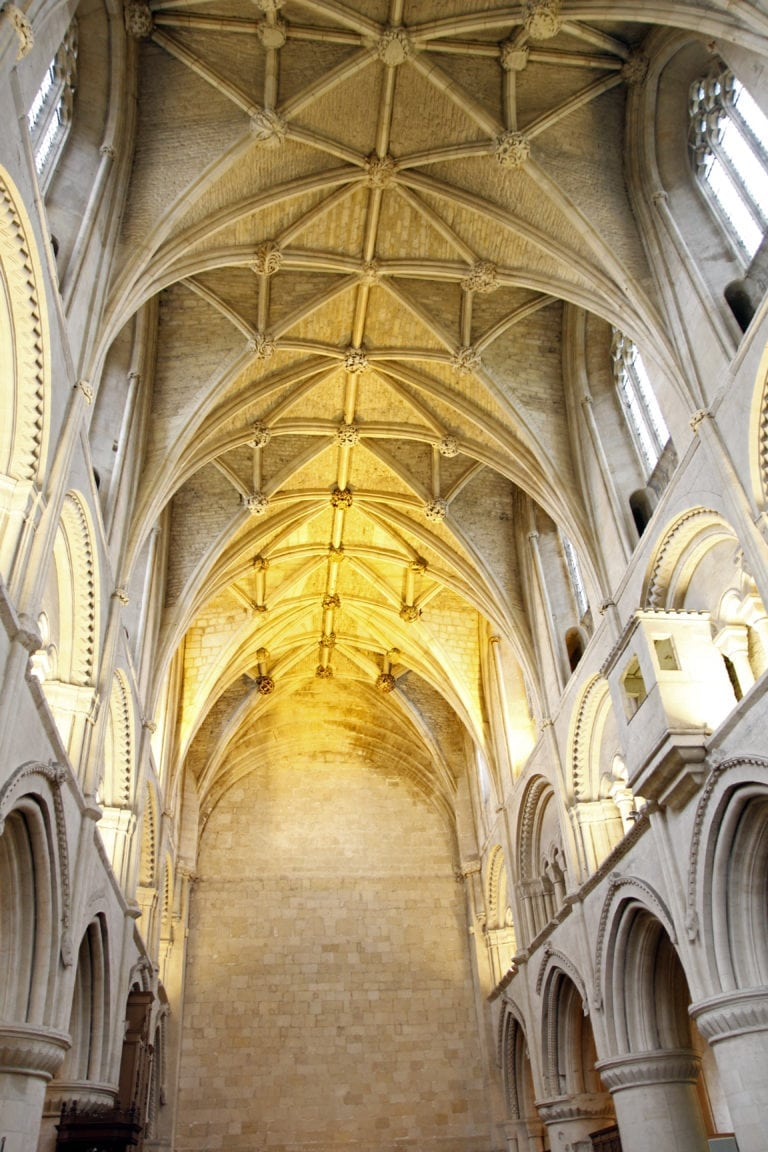 Malmesbury Abbey.The Nave.