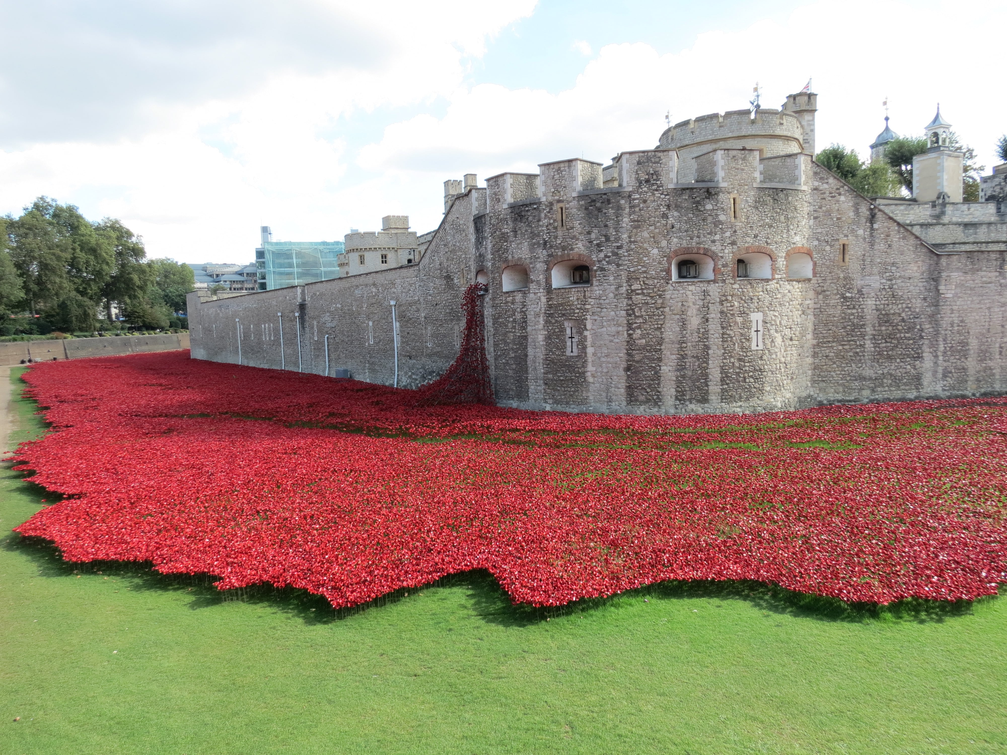 Tower of London Remembers,Blood Swept Lands and Seas of Red.
