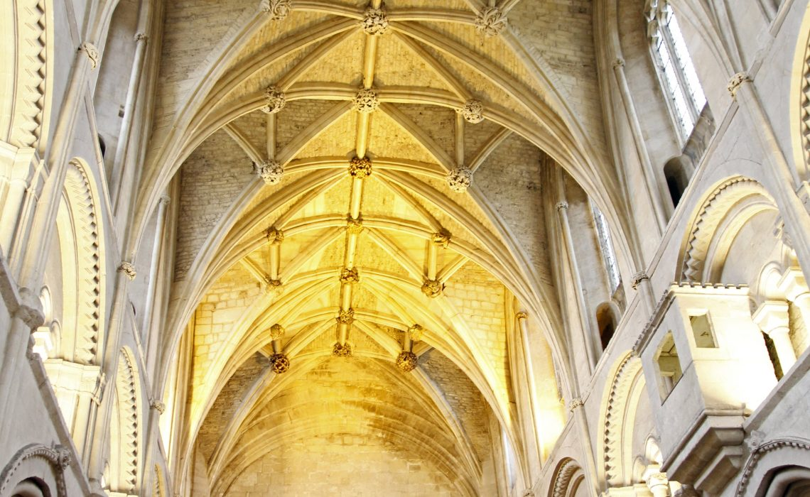 Malmesbury Abbey.The Nave.