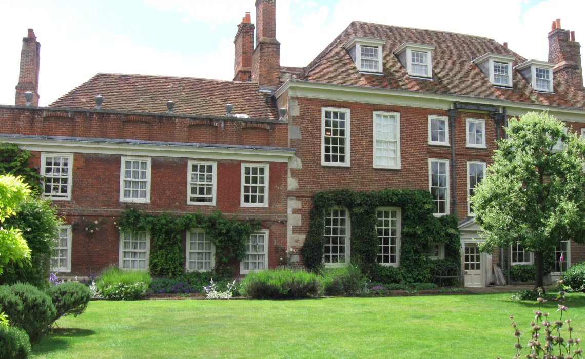Mompesson House,National Trust,Salisbury Cathedral Close.